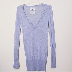 Holister Long/S Pull over Sweater Size M